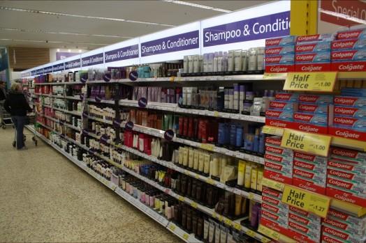 shamp aisle