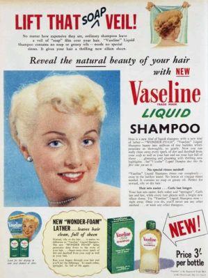 vaseline shampoo