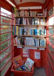 517d1d84e2bd9ff5150f1d852f0822bb--telephone-booth-free-library